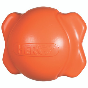 Hero Signature Series Soft Rubber Bone Ball Hunter Orange Medium