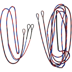 Firststring Genesis String And Cable Set Red/ Blue