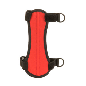 October Mountain Arm Guard Red