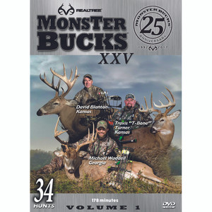 Realtree Monster Bucks Xxv Dvd Volume 1