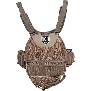 Knight And Hale Run N Gun 100 Turkey Vest Mossy Oak Bottomland