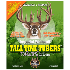 Whitetail Institute Tall Tine Tubers Seed .5 Acre 3 Lb.
