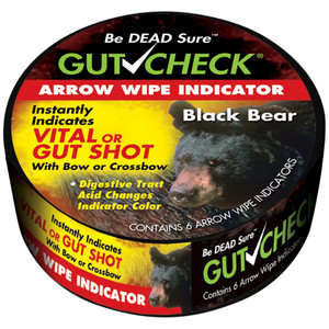 Gut Check Arrow Wipe Indicators Bear 6 Pk.