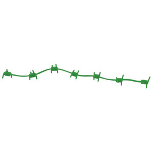 Outdoor Prostaff Wire Wrap Silencers Green 6 Pk.
