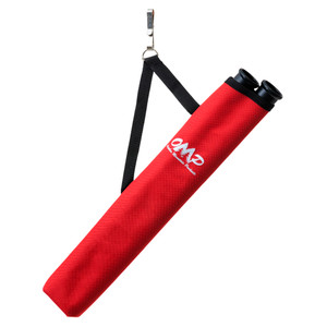 October Mountain Hip Quiver 2-tube Red Rh/lh