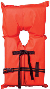 Abs Child Yoke Vest Small Orng