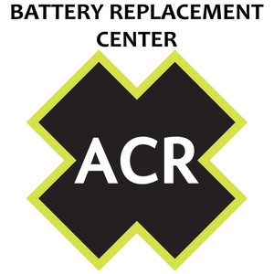 ACR FBRS 400 & 425 Battery Replacement Service - PLB 400 & PLB 425 Includes 1105 Battery Parts & Labor