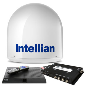 Intellian i2 US System w/DISH/Bell MIM Switch, 15M RG6 Cable, & VIP211z DISH HD Receiver