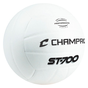 Champro ST700 Pro Perform Volleyball White