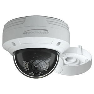 Speco 2MP HD-TVI Dome Camera 2.8mm Lens - White Housing w/Included Junction Box