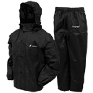 Frogg Toggs Mens Classic All Sport Rainsuit Black