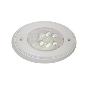 Aqua Signal Vienna Oval LED Multipurpose Light - Surface Mount Push Light - White