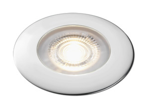 Aqua Signal Atlanta LED Downlight - Warm White LED w/Chrome Housing