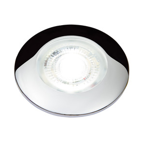Aqua Signal Atlanta Mini High Power Mini LED Downlight - Warm White LED - Chrome Housing