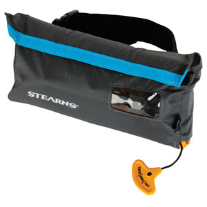 Stearns 0275 33-Gram Manual Inflatable Belt Pack - Gray/Blue