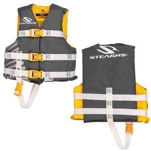Stearns Child Classic Nylon Vest Life Jacket - 30-50lbs - Gold Rush
