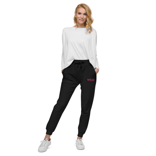 SC Women's  Embroidery Fleece Sweatpants