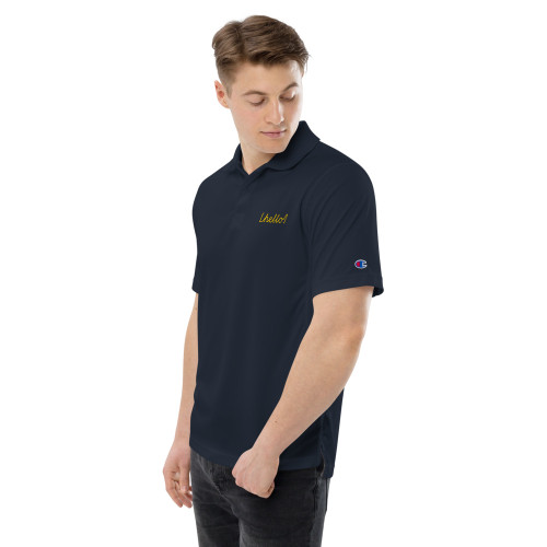 SC Men's Champion Performance Embroidery Polo