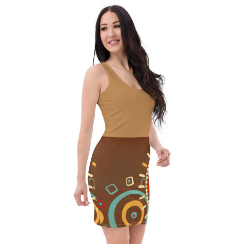 SC All-Over-Printed Graphic Dress