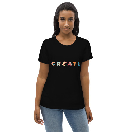 SC Women's Graphic Fitted Eco Tee