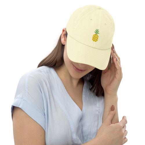 SC Pastel 3D Embroidery Baseball Hat