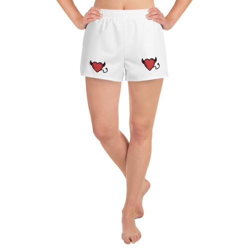SC Women's Graphic Athletic Short Shorts