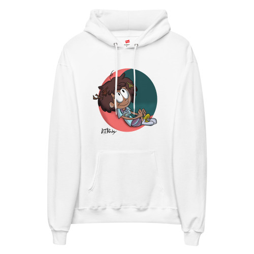 SC Anne On The Moon Unisex Fleece Hoodie