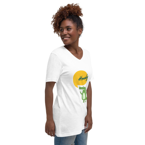 SC Howdy Unisex  Short Sleeve V-Neck T-Shirt