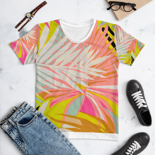 SC Women's All-Over-Printed Floral T-shirt