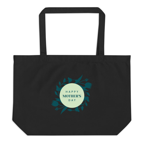 SC Mom's  Large Organic Tote Bag