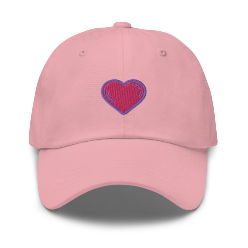 SC HEART Embroidery Dad Hat