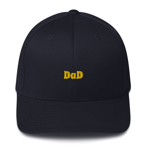 SC Embroidery Structured Twill Dad Cap