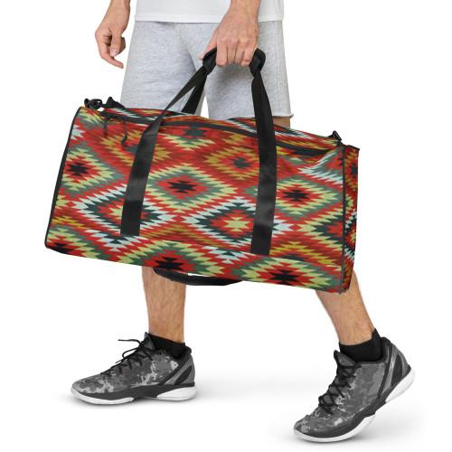 """SC Geo-Metric Graphic Duffle Bag """"FREE SHIPPING"""""""
