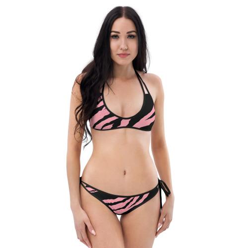 SC Pink Tiger Two-Piece Bikini
