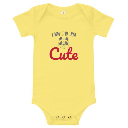 SC Baby Short Sleeve One Piece