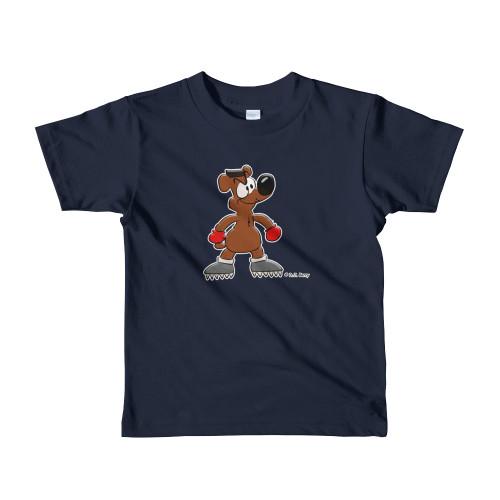 SC  Boomer Boxing Bear Short sleeve kids t-shirt