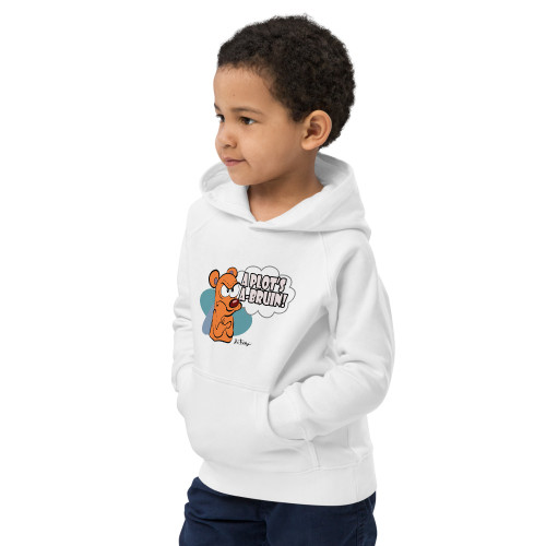 SC A Plot's A-Bruin Kids Eco Hoodie