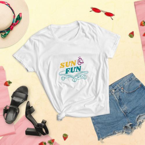 SC Women's Short Sleeve Sun & Fun T-shirt