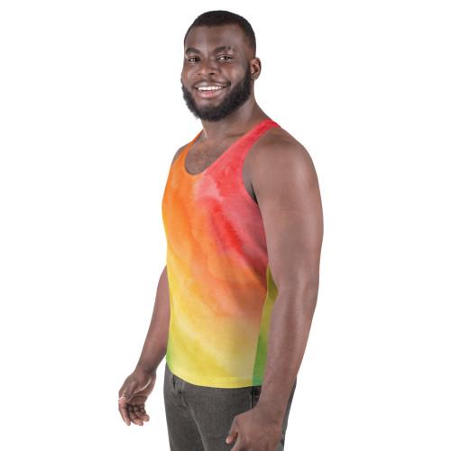 SC Unisex Summer Tie Dye Tank Top