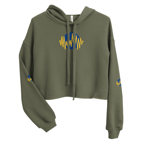 SC Graphic Crop Hoodie *Free Shipping*