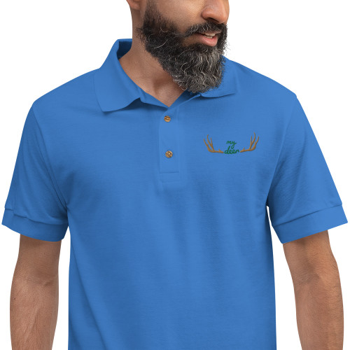 SC Flat Embroidered Polo Shirt