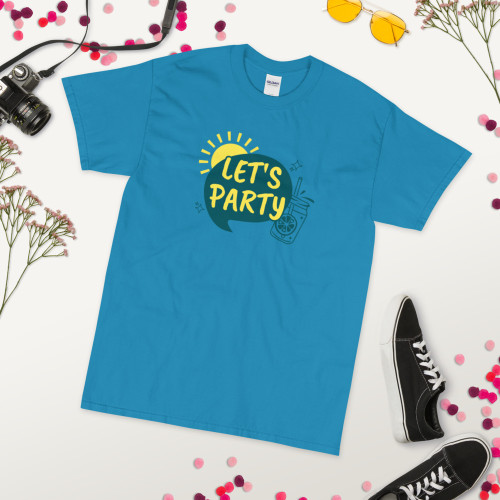 SC Let's Party Short Sleeve T-Shirt *Free Shipping*