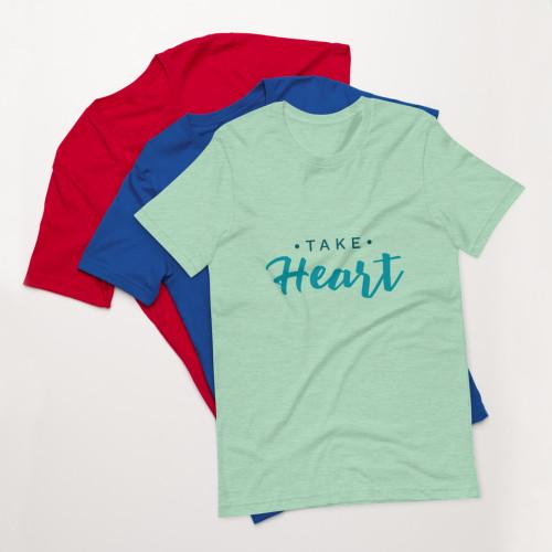SC Take Heart Short-Sleeve Unisex T-Shirt