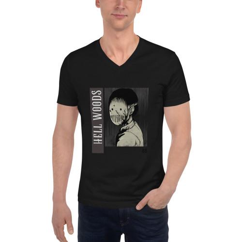 SC Hell Woods Unisex V-Neck T-Shirt