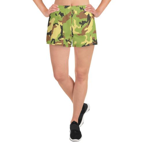 SC Women's Athletic Camo Short Shorts