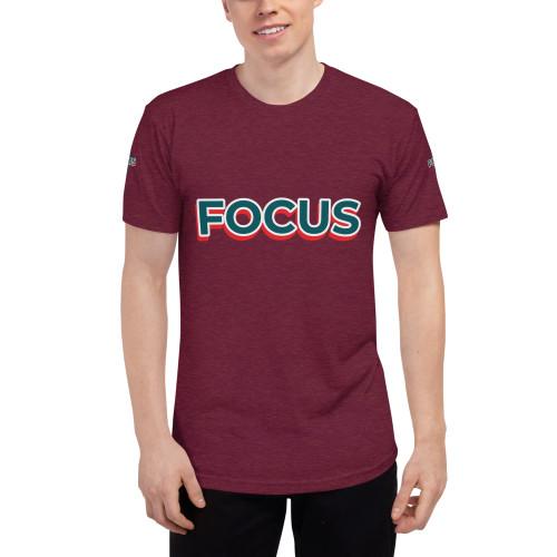 SC Focus Unisex Tri-Blend Track Shirt