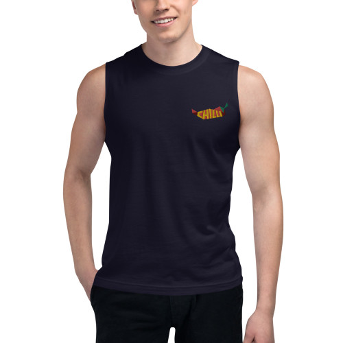 SC Embroidery Men's Muscle Shirt