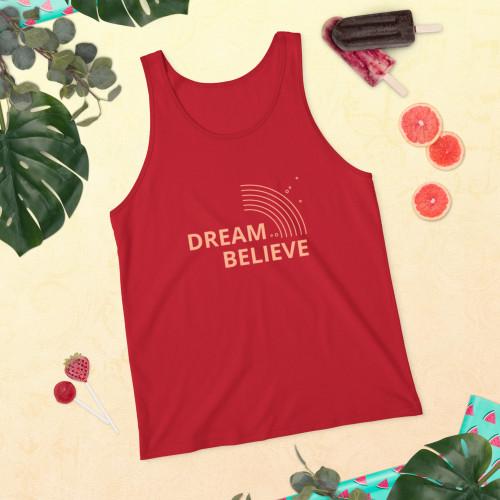 SC Unisex Dream & Believe Tank Top
