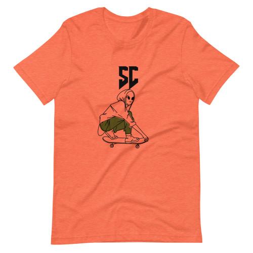 SC Skater Ghost Short-Sleeve T-Shirt