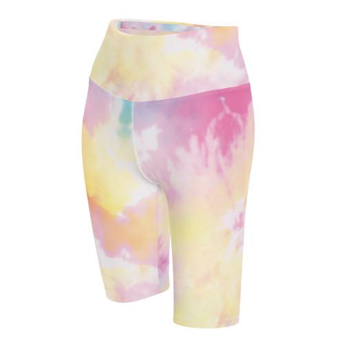 SC Cotton Candy Tie Dye Biker Shorts